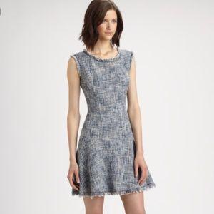EUC Rebecca Taylor Tweed Dress